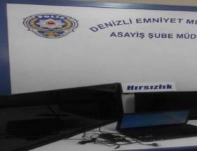 Denizlide iki hırsızlık zanlısı tutuklandı