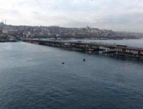 Haliç metro geçişi köprüsü, gün sayıyor