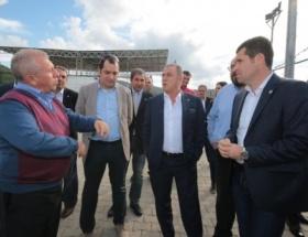 Fatih Terim, Altınordu futbol tesislerini gezdi