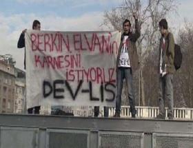 Berkin Elvan için karneli eylem
