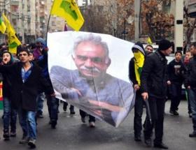 Antalyada Öcalan eylemi