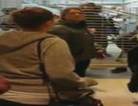 AVMdeki saldırıyı Türk kadın görüntüledi