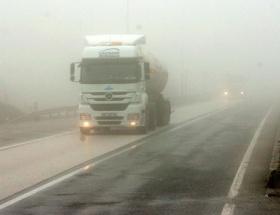 Bolu Dağında ulaşıma sis engeli
