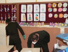 Jandarma, TOKİ İlkokulunu boyadı