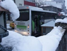 Karsta 62 köy yolu ulaşıma kapandı