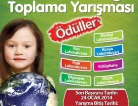 Okullarda bitkisel atık yağ toplama yarışması