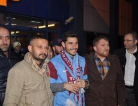 Özer, Trabzonda coşkuyla karşılandı