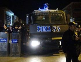 BDPye yürümek isteyen ülkücülere polis engeli