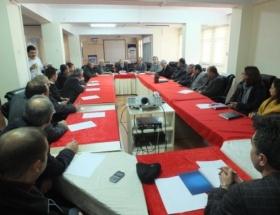 Ziraat Odası başkanları bilgilendirildi