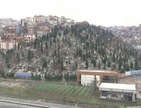 Mezarlık afet riskli alan ilan edildi