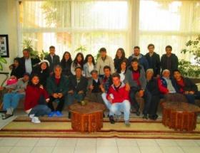 Kozan Gençlik Meclisi üyeleri huzurevinde