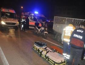 Edirnede trafik kazası: 2 yaralı