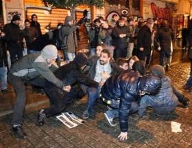 İstiklalde polis müdahalesi