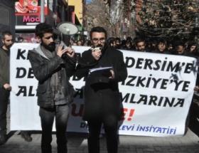 Alevilerden Suriye protestosu