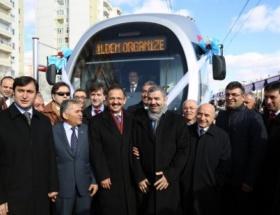 Raylı sistemin Beyazşehir-İldem hattı törenle açıldı