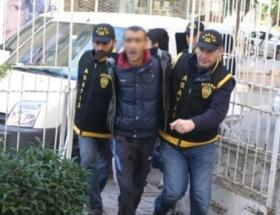 Antalyada silahlı gaspa tutuklama