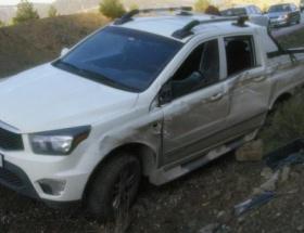 Birecikte iki otomobil çarpıştı: 5 yaralı