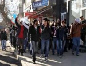 Elazığspor taraftarları TFFyi protesto etti