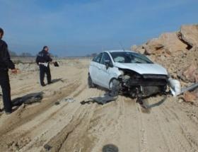 Karasuda trafik kazası: 5 yaralı
