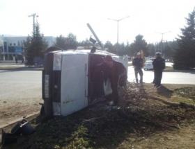 Boluda trafik kazası