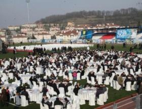 Karamanda spor kompleksi açıldı