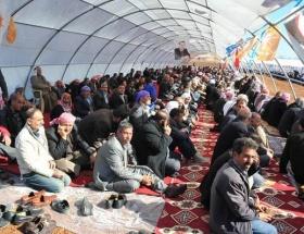 Aşiret üyelerinden AK Partiye destek