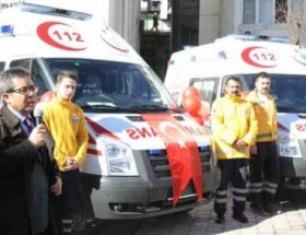 Artvine 6 yeni ambulans