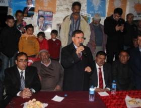 Başkan Ahmet Zenbilci mahalle olan köyleri gezdi
