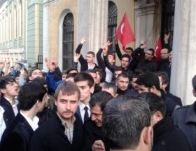 Ülkücüler, Milli Eğitim Müdürünü protesto etti