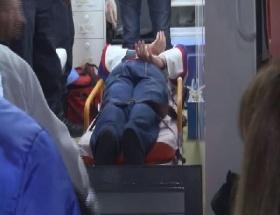Hava korsanı hastaneye işte böyle getirildi