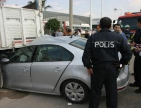 Adanada trafik kazası