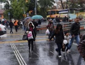 İstanbulda yağmur sevinci