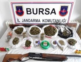 Bursada uyuşturucu operasyonu: 8 gözaltı