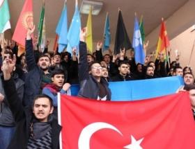 Ülkücü gençlerden Hocalı protestosu