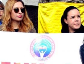 Bodrumda MEB yasa tasarısı protestosu