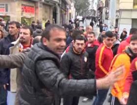 Galatasaray ve Chelsea taraftarı arasında gerginlik