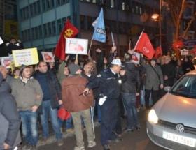 Ankarada ses kaydı protestosu