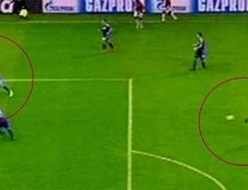 Galatasaray-Chelsea maçında 2.Donk vakası