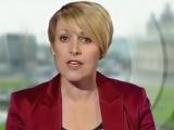 BBC muhabiri ekranda kayboldu