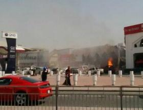 Katarda Türk lokantasında patlama!