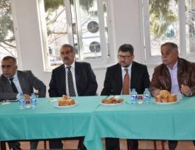 MHP Seyhan adayı Çalışkan, sanayicilerle buluştu