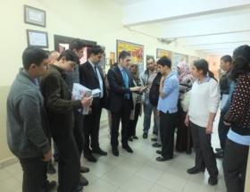 Manavgatta öğrencilere tablet bilgisayar dağıtıldı