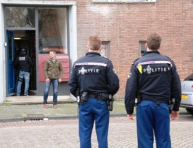 Amsterdamda film gibi silahlı soygun