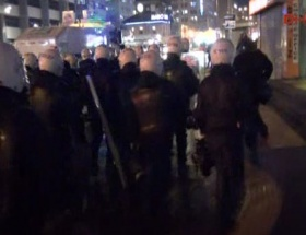 Ankarada polis müdahalesi