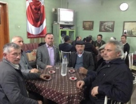Saadet Partisi Orhanelinde köy gezilerini sürdürüyor