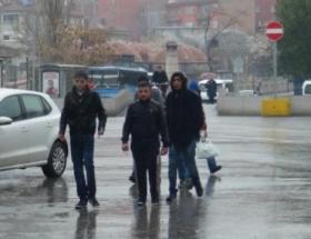 Aksarayda yağmur etkili oldu
