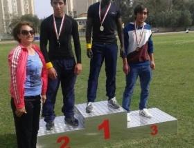 1 altın, 2 gümüş ve 1 bronz madalya