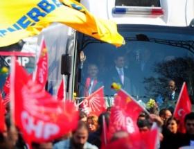 Bağdat Caddesinde gövde gösterisi