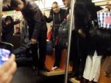 Metroda fare paniği