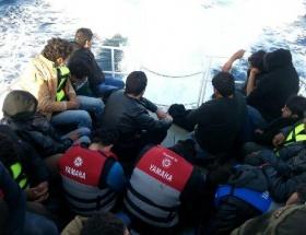 Suriyeli kaçakları Sahil Güvenlik kurtardı